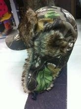 China Realtree Camo Winter Cap with ear protection Outdoor Hunting Product for Hunter Cap on sale