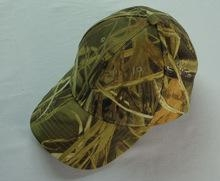 China 600D Durable Fabric Reed Camo Hunting Game Caps Duck Shooting Caps Camouflage Cap on sale