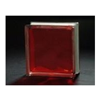 China Colored glass block Product name:Inner Red on sale