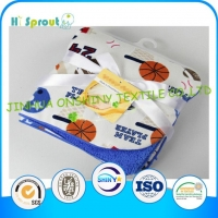 China Woven Cotton Baby Blanket on sale