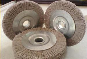 China Wheel Brush Abrasive Wheel Brush on sale