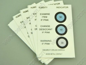 China Humidity Indicator Card (3point) on sale