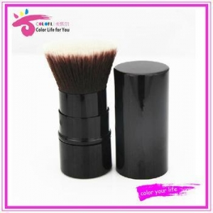 China synthetic kabuki brush ,Retractable powder brush ,kabuki brush ,retractable brush on sale