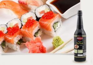 China Sushi Vinegar Model Number: Desly Brand Japanese Soy Sauce 625ml on sale