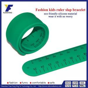 China Silicone Slap Ruler Bracelet on sale