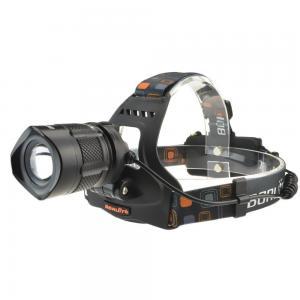 China CrazyFire RJ2157 CREE XML T6 Headlamp Head Light 1800 Lumens Adjustable Zoom IP65 Waterproof on sale