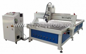 China Slatwall Panel Wood Cutting CNC Router W1540V on sale