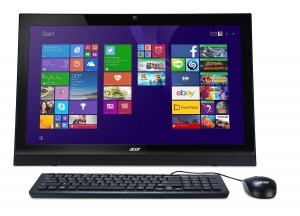 China all in one pc Acer Aspire 21.5 All in One pc on sale