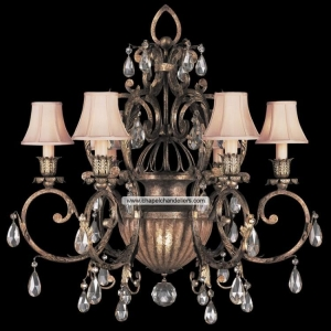 China Antique Iron Chandeliers SC59032 on sale