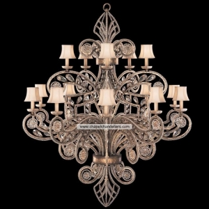 China Antique Iron Chandeliers SC59030 on sale