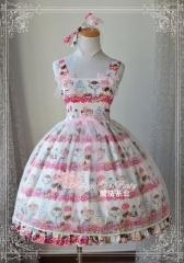 China Lolita Dresses Magic Tea Party Ice Cream Summer Lolita JSK on sale