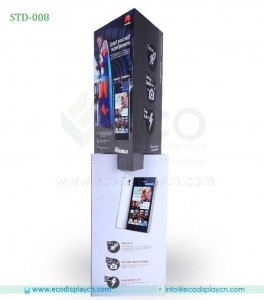 China Phone Advertising Cardboard Standee For Brand Promotion on sale