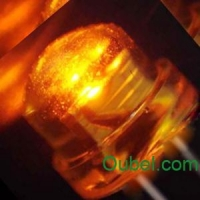 China LED Component 5mm Helmet Amber LED on sale