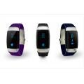 China Heart Rate Record Pedometer Bluetooth Wristband Watch on sale