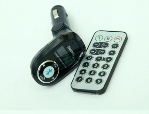 China Bluetooth MP3 Player FM Transmitter Car Kit Charger for iPhone3GS 4 4S 5 5C 5S 6 on sale
