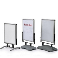 China Outdoor Banner Stand Outdoor Poster Stand on sale