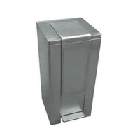 MS-118 Residential pedal stainless steel dustbin
