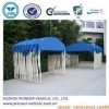 China Outdoor car parking shelter with steel frame(ISO Approved) for sale