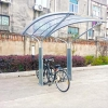 China galvanized shelter bike supplier for sale