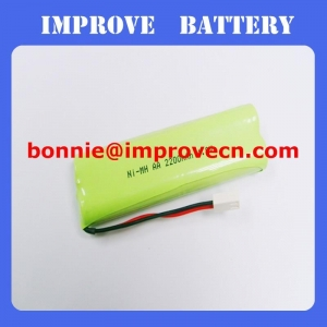 China Nimh Battery 4.8v AA 2200mAH on sale