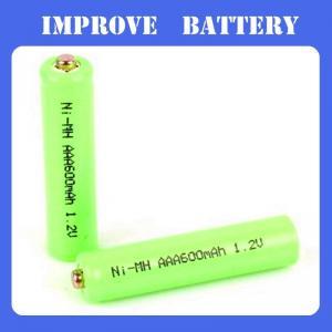 China Nimh Battery 1.2V AA 600mAH on sale