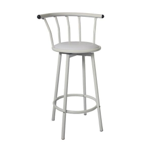 China 29 Height Vinyl Padded Metal Swivel Bar Stool on sale