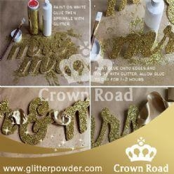 China Gold Glitter Powder Shaker applied for stationery diy on sale