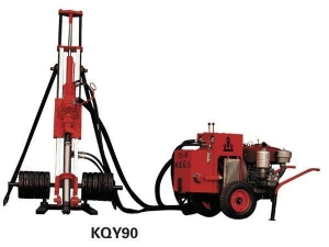 China KQY90 Pneumatic-Hydraulic DTH Drilling Rig on sale