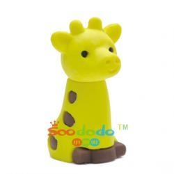 China Animal Eraser Yellow Giraffe Shaped Eraser Model No:XDDA1 on sale