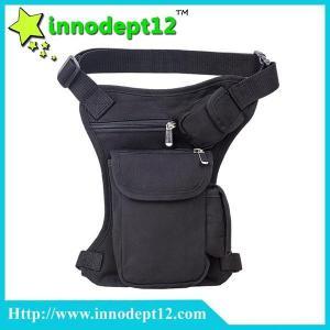 China Men's canvas Military motorcycle Drop Leg Bag Fanny pack Waist Belt bag Shoulder bag on sale