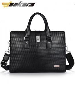 China Unique canvas bag Products men business leather laptop bags on sale