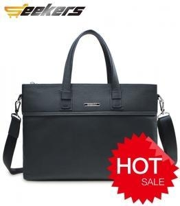 China Unique canvas bag Products men leather briefcase on sale