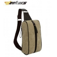 Unique canvas bag men canvas sport waist bag