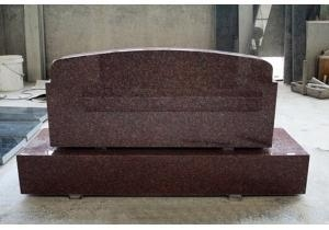 China Polished Granite Slant Marker Tombstone on sale
