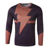Mens Compression Armour Base Layer Gym Sports T-Shirt