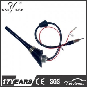 China Aluminum mast Mini Car Radio Antenna Electric Amplifier-MA335B on sale