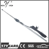 China 4 section stainless steel retractable mast antenna with key MA603 for sale