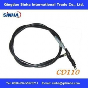 China chrome plated CD110 motorcycle clutch cable on sale