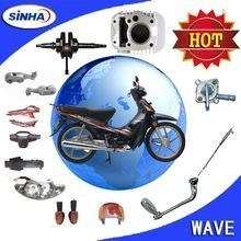 China WAVE110 WAVE125 motorcycle parts on sale
