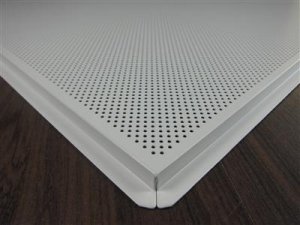 China Aluminum Ceiling Tile--------Lay in Perforated on sale