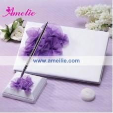 China AGB06 Designer wholesale wedding guest books on sale