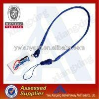 Fashion Zipper Lanyard With Soft Pvc Puller For Promotional
