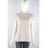 China knitwear P6031002 Womens knitted top with gethering shoulder for sale