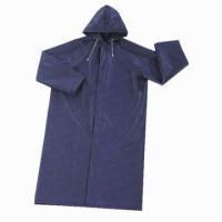 China 100%PVC waterproof raincoat on sale