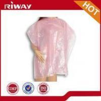China Plastic disposable cape on sale