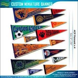 China Pennant Flags Custom Made Felt Pennants on sale