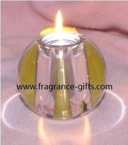 China crystal glass candle holder FG-092402 on sale