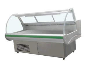 China Supermarket deli display fridge Product Model: KX-1.5GF on sale