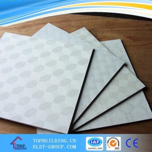 China Gypsum Ceiling Board White PVC Gypsum Ceiling on sale