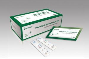 China HIV 3line 1+2 Rapid Test Kit  Dengue IgG IgM Ab Rapid Test on sale